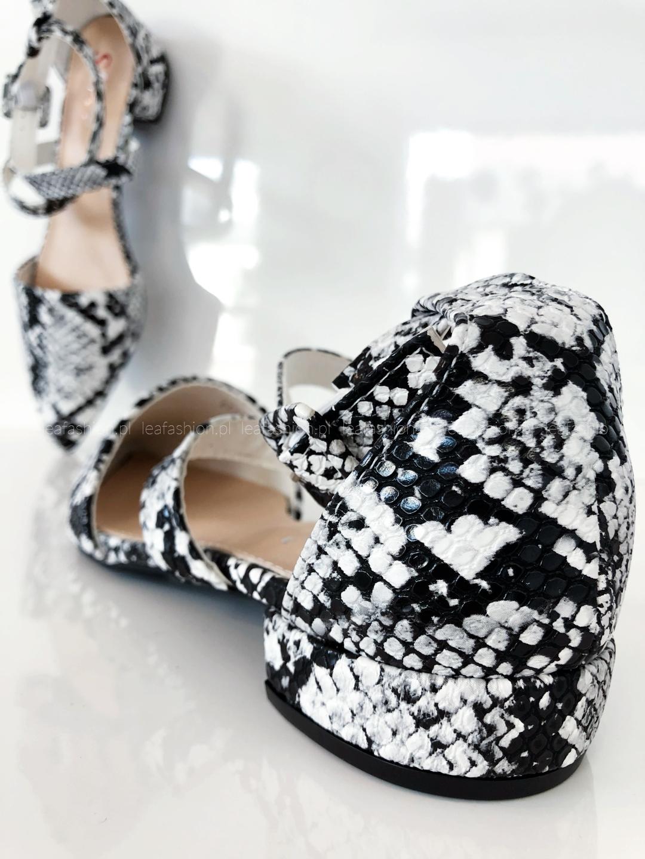 buty wzór - BUTY Z WYCIĘCIAMI SNAKE