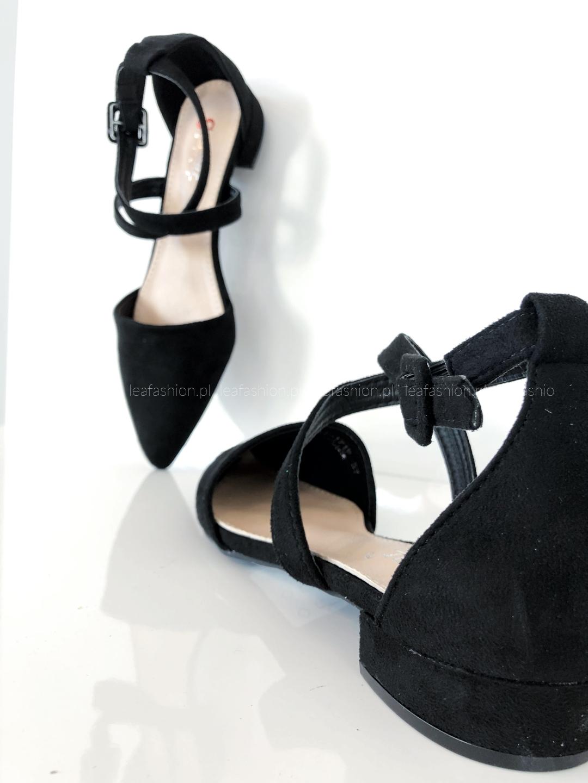 buty z wycięciami - BUTY Z WYCIĘCIAMI BLACK
