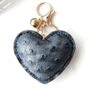 BRELOK HEART BLUE