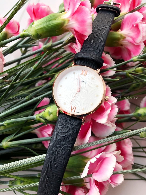 zegarek ciemny - ZEGAREK ELI BLACK