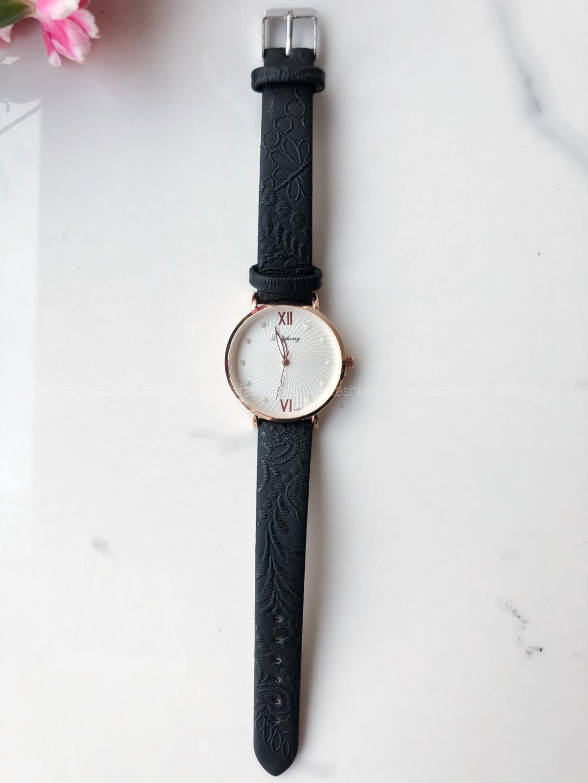 zegarek czarny - ZEGAREK ELI BLACK