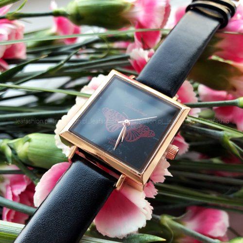 zegarek0prostokąt 500x500 - ZEGAREK BUTTERFLY BLACK