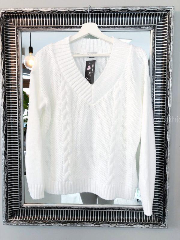 Sweter biały