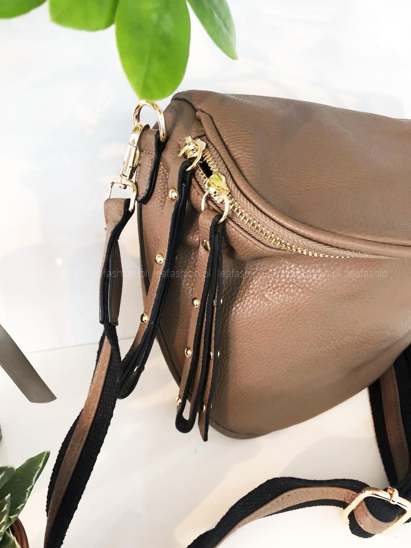 torebka torba półokrągła - TOREBKA BALANCIA BROWN