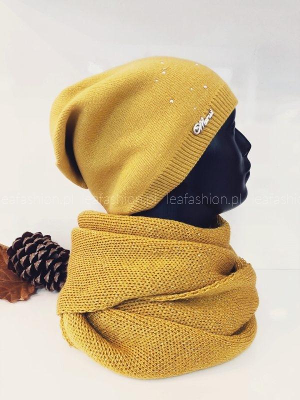 Żółta czapka