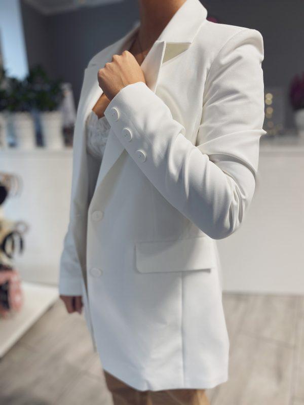 biała marynarka damska